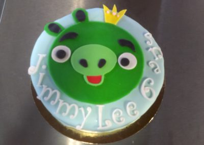 Gâteaux spéciaux : Angry Birds