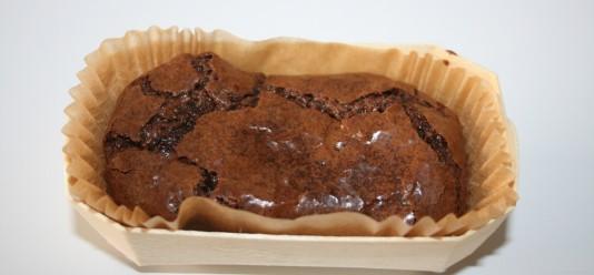 Brownie au chocolat (2.50€/pce, +-100g)