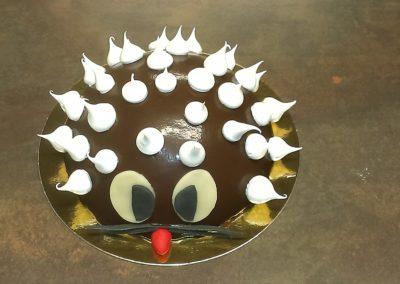 Gâteaux spéciaux : Hérisson