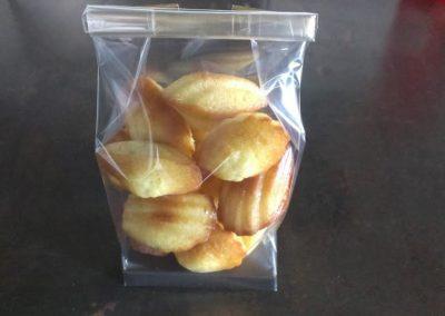 Mini madeleines vanille (3.00€/100g)