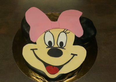 Gâteaux spéciaux : Minnie