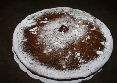 Tarte cassonade : pâte levée, cassonade (2.00€/pers)