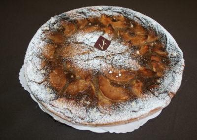 Tarte cassonade-pomme : pâte levée, cassonade, pomme (2.00€/pers)