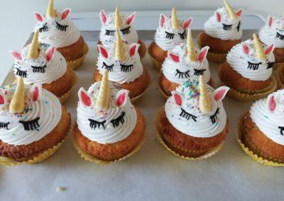 Cupcake licorne (4.50€)
